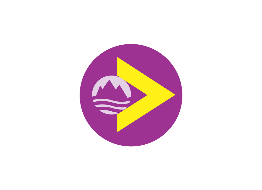 Designed for Hi-Trans, the Highland transport company, this logo, appearing on all travel related material needed to communicate 'travel in the Highlands' without the need for words.